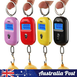 Pocket  Mini 25Kg x 5g LCD Digital Fish Hanging Luggage Weight Hook Scale
