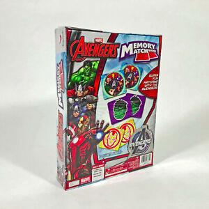 Marvel Avengers Memory Match Game with Thor, Iron Man, Capt America, Hulk NEW