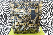 TED Baker Donna fithcon icona Tote Bag Large Nero/Oro Shopper Borsa nuova con etichetta