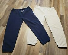 Vintage Fruit Of The Loom Sweatpants Lot Of 2 Mens XL Made In USA