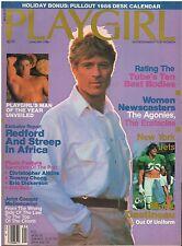 Playgirl magazine January 1986 w/ Desktop Calendar Brian Buzzini man of the year