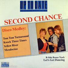 "7"" Second Chance Tom Tom turnaround/Mendocino Barry Lane ZYX italo-discoteca 1989"