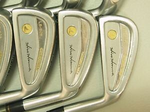 Honma Mens LB606 H&F golf iron 18Kgold 4stars Ferrite Carbon Best Take !