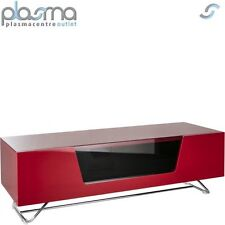 """Alphason Chromium Red TV Stand for up to 60"""" TVs"""
