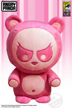 Rare! Pink Angry Panda EXCLUSIVE plush SDCC 2012 New w/ Tag. Toynami COMIC-CON