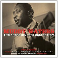 Muddy Waters CHESS SINGLES COLLECTION 180g BEST OF New White Colored Vinyl 2 LP