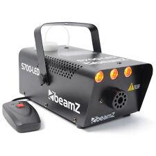 Beamz S700-LED Nebelmaschine 700W mit Flammen DJ Disco Licht Effekt