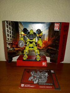 Hasbro Transformers Studio Series 2007 Movie 1 Ratchet #04 Complete Autobot Rare