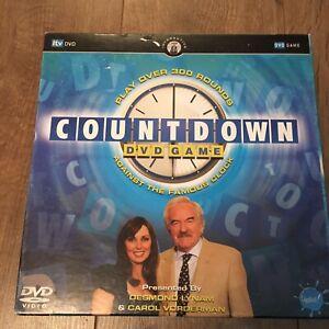 Countdown DVD Game Desmond Lynam & Carol Vorderman