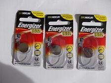 Genuine Energizer CR1632 3Volt Lithium Batteries x 3 batteries brand new