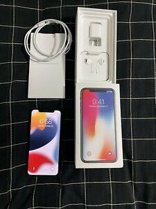 Apple iPhone X - 64GB - Space Gray UNLOCKED  A1865 (CDMA   GSM) MINT