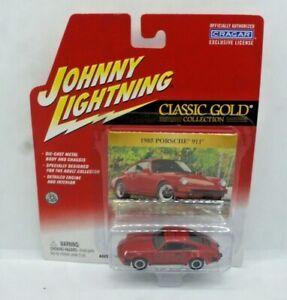 Johnny Lightning Classic Gold 1985 Porsche 911 Red NEW