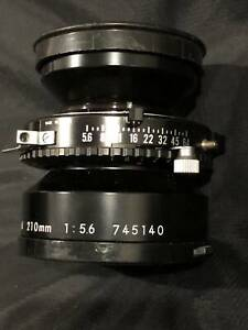 LENS PERFECT CONDITION Nikkor-W 210mm 5x4