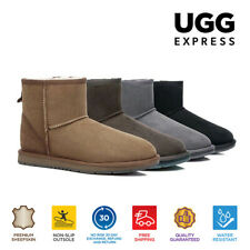 UGG Boots Premium Australian Sheepskin Unisex Mini Classic Water Resistant