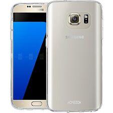 Samsung S7 Case Cover TPU GEL Clear Case + Free ULTRA Clear Screen Protector