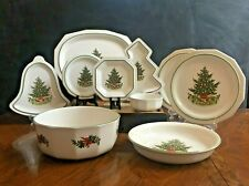 Pfaltzgraff Christmas Heritage Plates, Bowls, Serving Dishes Sold by Piece