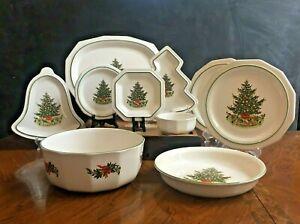 Serving Bowl Christmas Heritage Pfaltzgraff China Dinnerware For Sale Ebay
