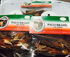 3 Bolsas Selladas Yerba Palo Brasil Hierbas Mexicanas Log Wood FREE SHIPPING!