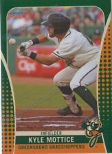 2019 Greensboro Grasshoppers Kyle Mottice RC Rookie Pittsburgh Pirates