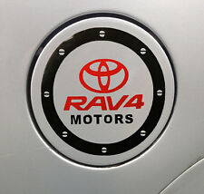 Amazing Car Fuel Gas Tank Cap Stickers Adhesive Graphic For Toyota (Black)