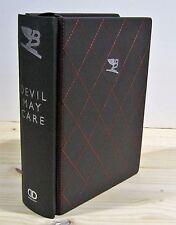 SEBASTIAN FAULKS DEVIL MAY CARE SIGNED BENTLEY LEATHER LIMITED ED JAMES BOND NEW