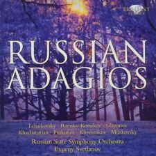 EVGENY/SRUSS SVETLANOV/RUSSIAN STATE SYMPHONY ORCHESTRA -RUSSIAN ADAGIOS CD NEW+