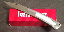KERSHAW INDIAN FORD 2155MOP FOLDING POCKET KNIFE-MOTHER OF PEARL-8Cr13MoV-NEW