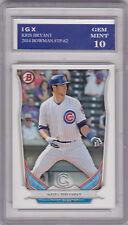 Kris BRYANT ROOKIE CARD Chicago Cubs 2014 Bowman GEM MINT 10 Baseball MLB RC