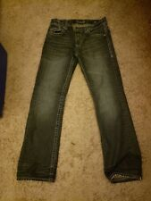 Affliction mens jeans 32x34 cooper relaxed cut excellent condition 9 out of 10