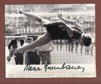 Ilona  Gusenbauer ... Bronzemedaille 1972 ...... Signiertes Vintage Foto