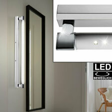 LED picture light wall spotlight living room lighting chrome lamp adjustable