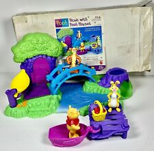 Vintage Mattel Picnic With Winnie The Pooh Playset 1998 # 67899-92 Complete