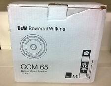 B&W CCM65 COPPIA DIFFUSORI DA INCASSO DA 130watt NUOVA