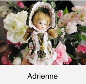 Marie Osmond Petite Amour Adrienne w/box, tiny tag, bracelet & certificate