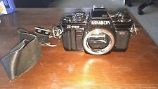 Minolta X-700 35mm SLR Film Camera Body only works great.