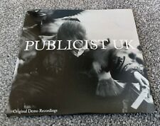 """PUBLICIST UK 2014 Record CLEAR Vinyl 7"""" STR001 LIMITED EDITION #494/850 interpol"""