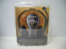 Plantronics GameCom 1 Binaural MultiMedia Analog Music Gaming Computer Headset