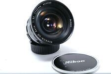 Nikon Nikkor-UD AI 20mm f 3.5 - AI converted Excellent +++