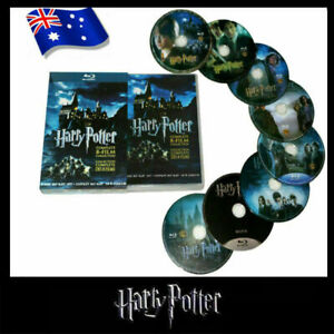 Harry Potter Complete 1-8 Movie DVD Collection Films Box Set As Gifts New AUD
