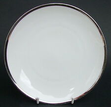 Thomas Medallion 4mm Wide Platinum Band 798 Side or Bread Size Plates 17.5cm VGC