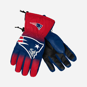 Forever Collectables NEW ENGLAND PATRIOTS BIG LOGO INSULATED GLOVES ~ L/XL