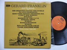 GERARD FRANKLIN Sir Geoffrey saved the world ... BEE GEES  MAXI 302 FRANCE rrt
