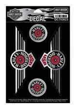 Harley-Davidson Fat Boy USA Decals, 5 Per Sheet, MD 6.25 x 2.5 inch DC753823