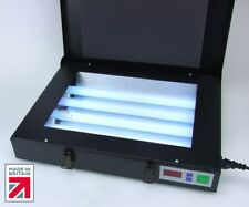 UV Exposure Unit, Ultra Violet Light Box, 4 x 15w UV Lamps. British Made.
