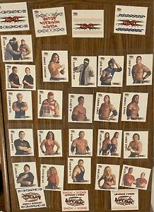 2004 PACIFIC TNA Wrestling ~ LOT Of 28 TATTOOS- AJ Styles Rookie ! 🔥 🔥 🔥