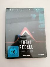 TOTAL RECALL SCHWARZENEGGER BLU RAY STEELBOOK GERMANY EXCLUSIVE NEW/SEALED