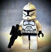 LEGO STAR WARS Clone Trooper Minifigure - #7675 #8014 (sw0201)