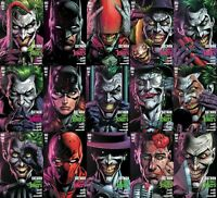 🔥 BATMAN: THREE JOKERS #1,2 & 3 (DC,2020) - LOT OF 15 PREMIUM & REG COVERS  🔥