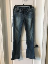 "Silver ""Tuesday"" Bootcut Jeans, Size 28"