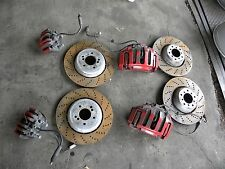 06 07 08 09 10 BMW M5 M6 ROTORS / CALIPERS AND BRAKE PADS NICE OEM ORIGINAL ///M